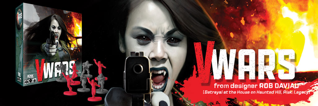 V-Wars, A Game of Blood and Betrayal