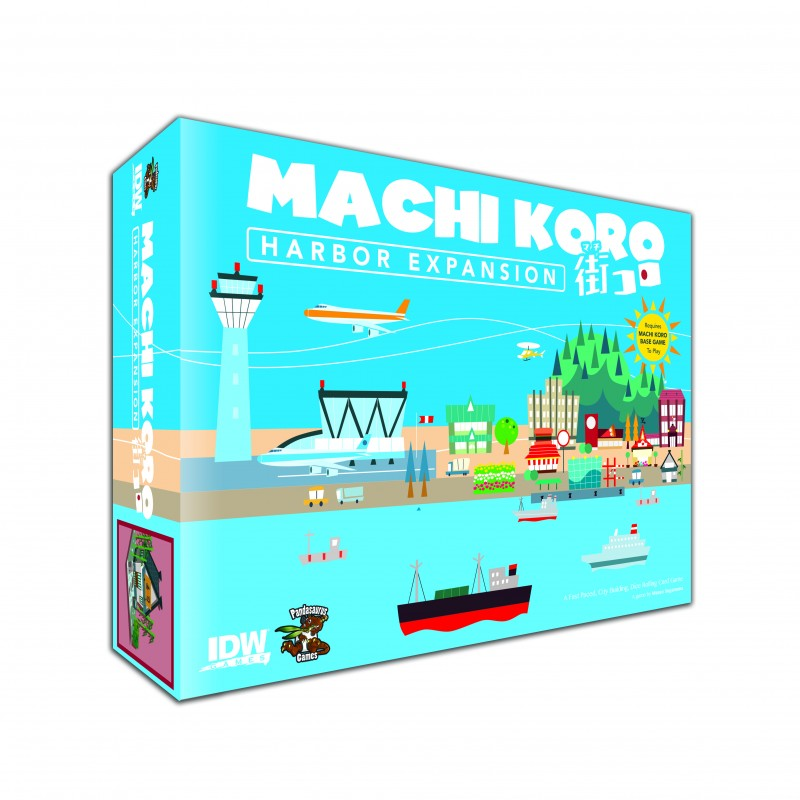 Machi Koro Expansion: The Harbour -  IDW Games