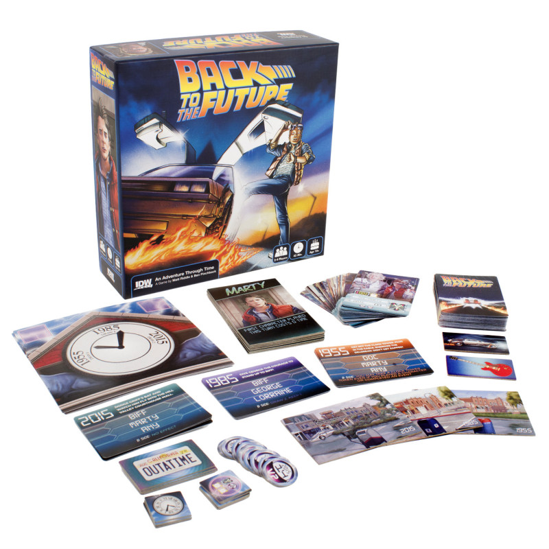 Back to the Future: An Adventure through Time -game pieces