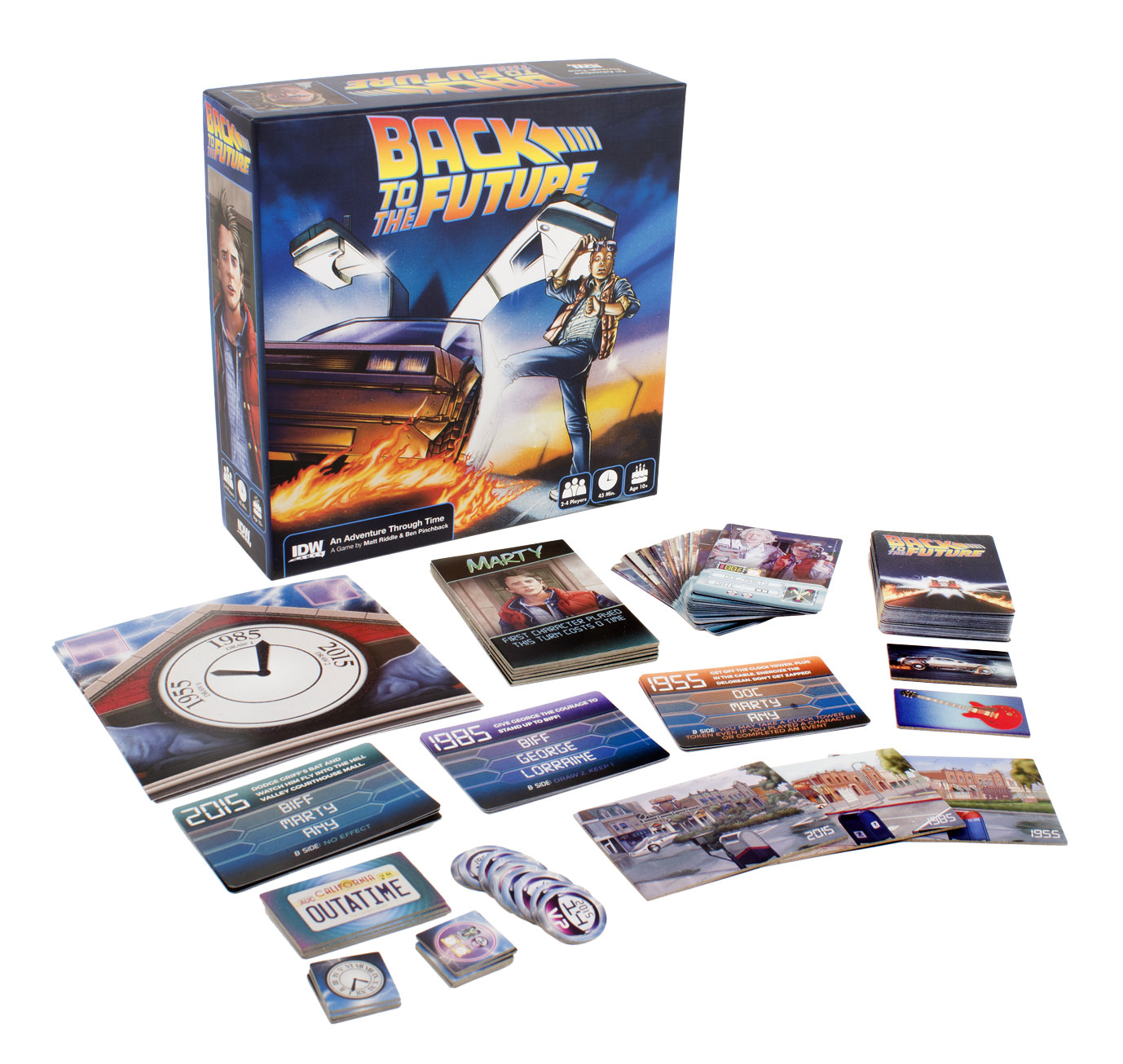 Back To The Future An Adventure Through Time Idw Games
