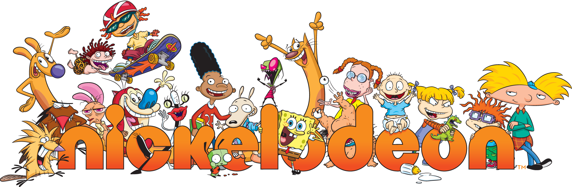 Idw games and nickelodeon announce nickelodeon splat - 90s cartoon wallpaper ...