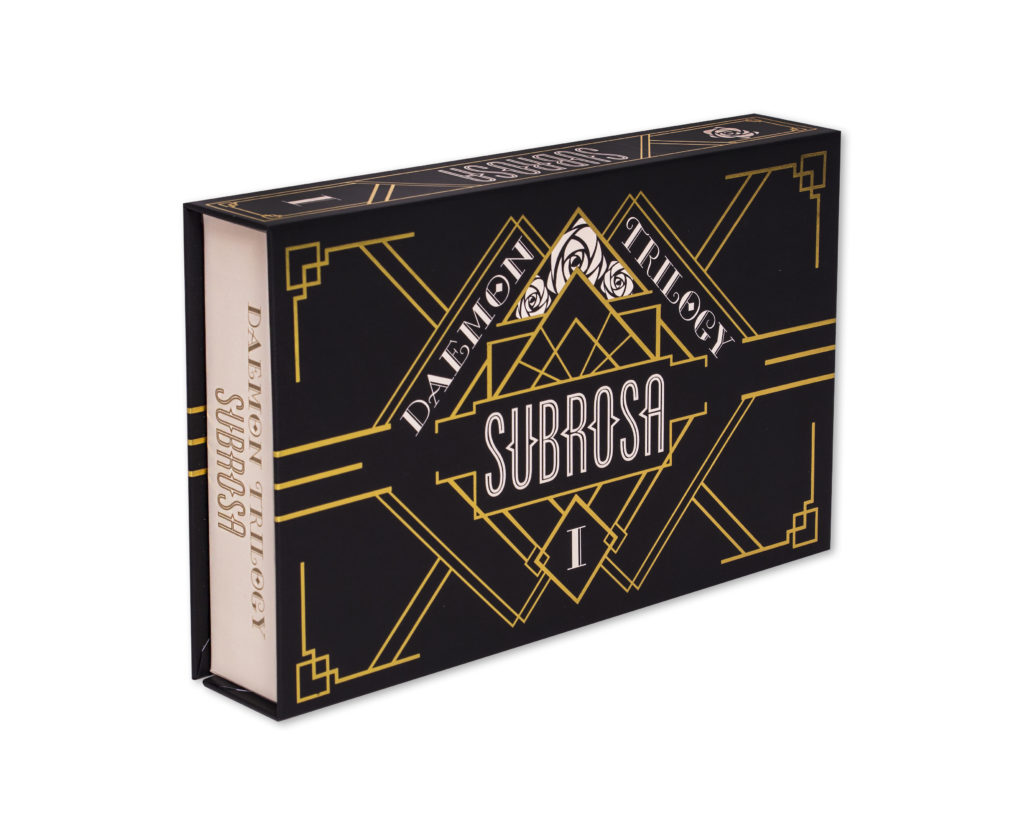 Daemon Trilogy: Subrosa Box Top