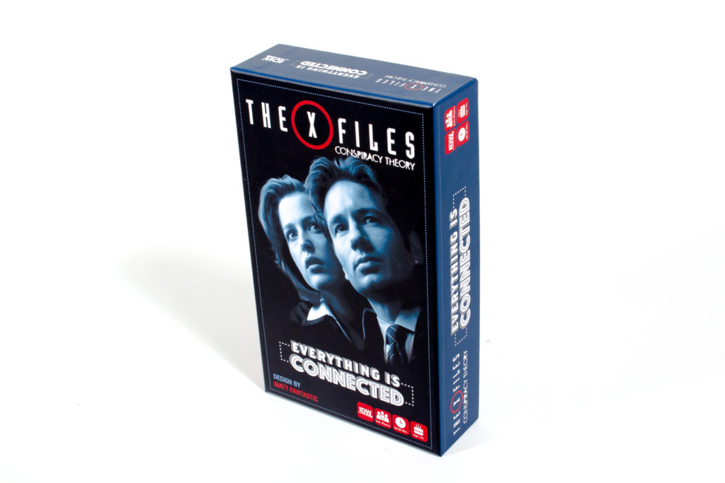 The X Files: Conspiracy Theory -  IDW Games