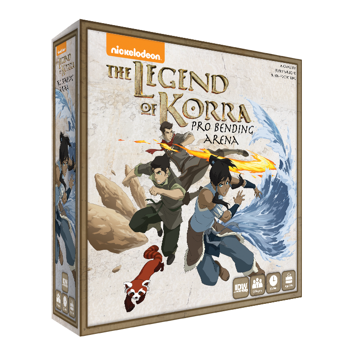 The Legend of Korra Pro-Bending Arena -  IDW Games