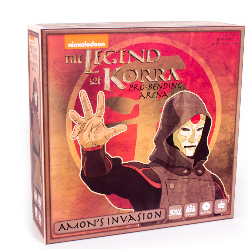 The Legend of Korra Pro-Bending Arena Amons Invasion -  IDW Games