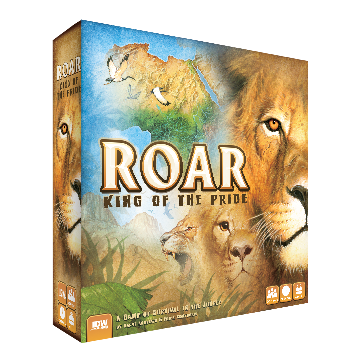 Roar: King of The Pride -  IDW Games