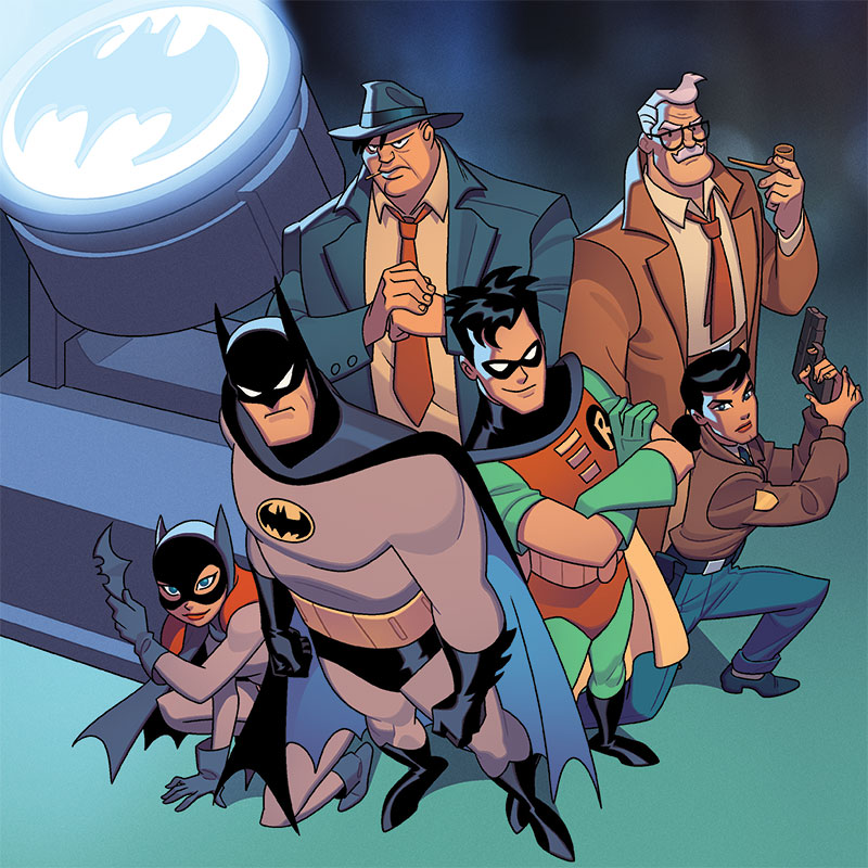 batman the animated series gotham under siege board game coming